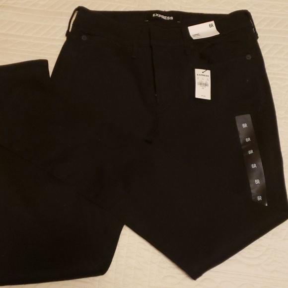 Express Denim - Express midrise leggings size 6